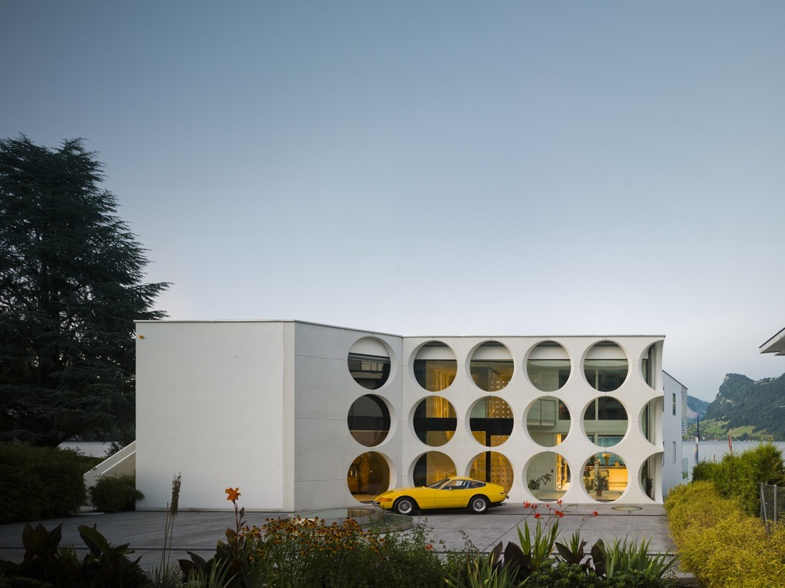 O house philippe stuebi archdaily for Architecture suisse