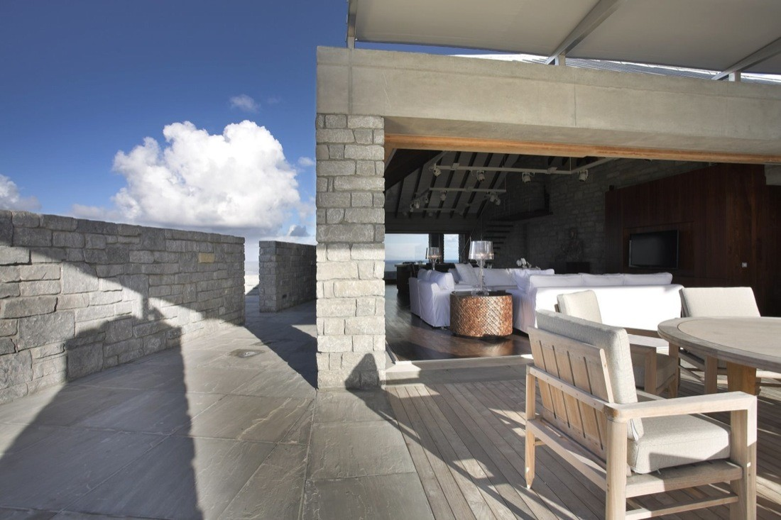 St. Barts Residence,© Robert Moore Brown