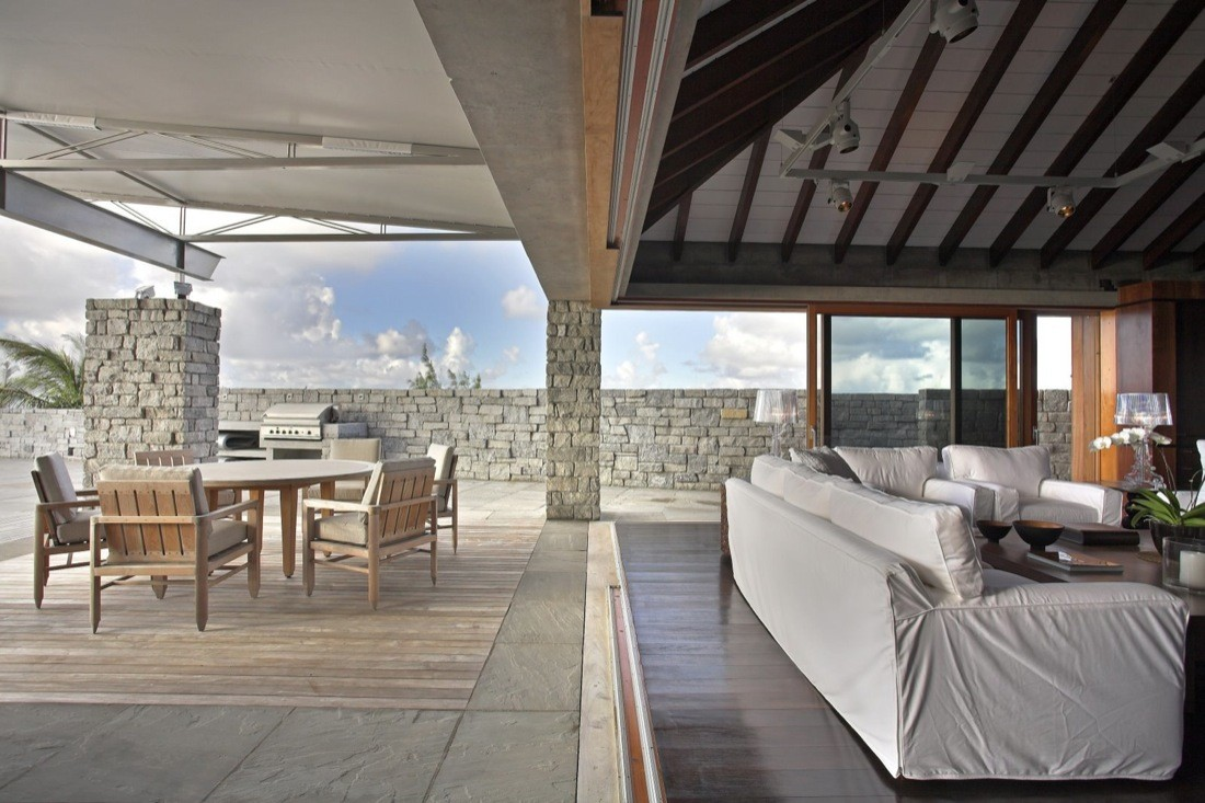 Attractive St. Barts Residence,© Robert Moore Brown
