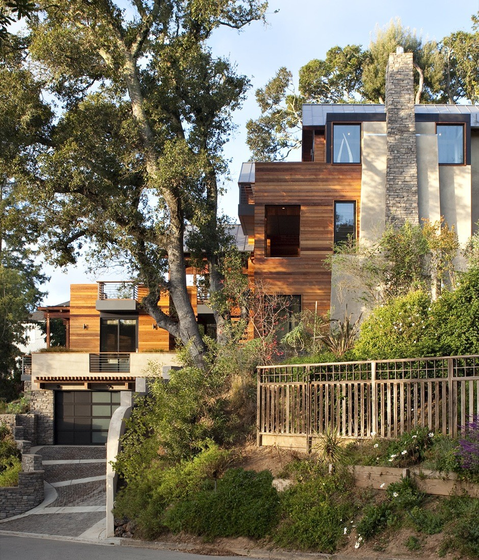 Gallery of hillside house sb architects 5 for Hillside architecture