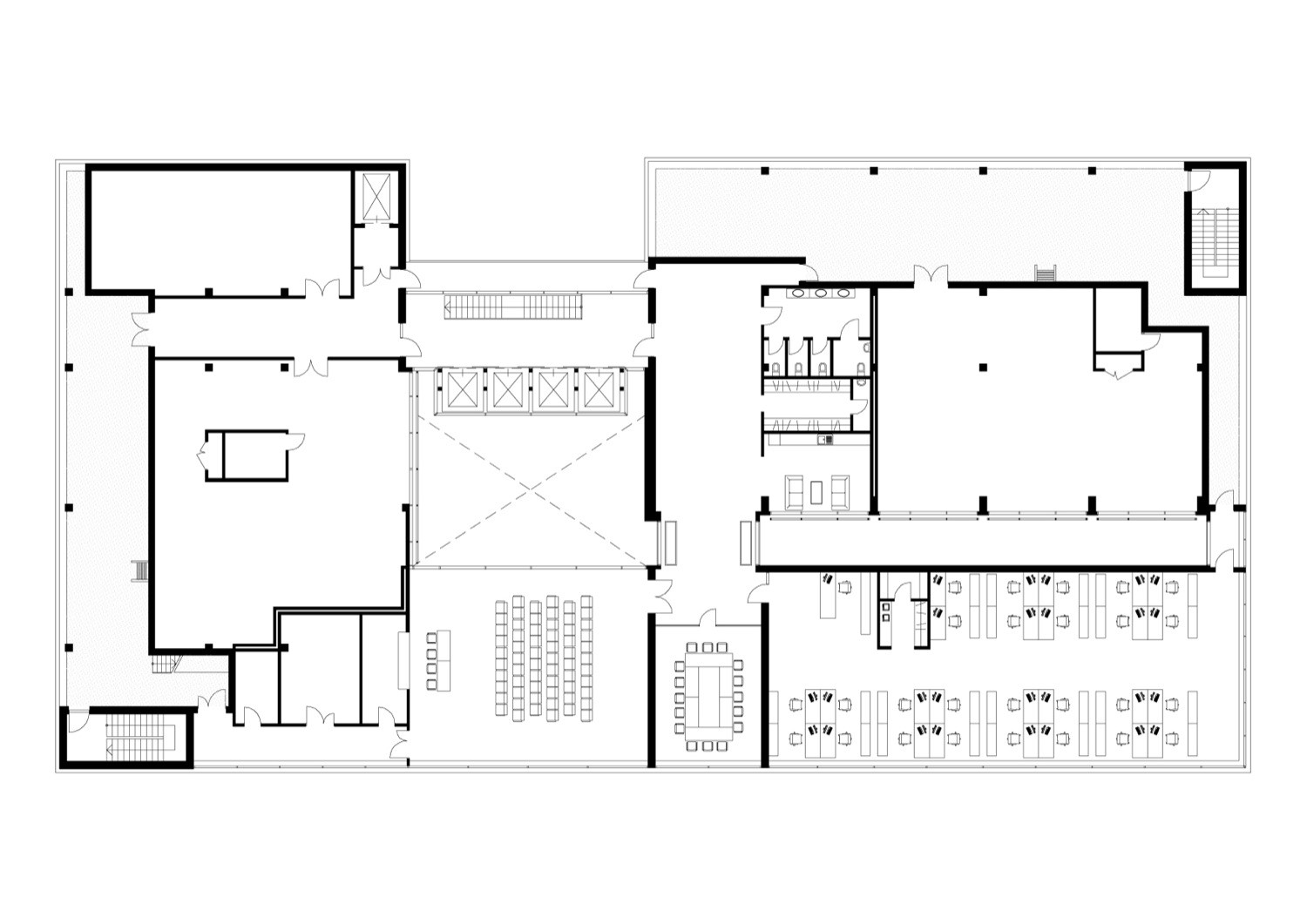 gallery of dnb nord office building audrius ambrasas architects 24. Black Bedroom Furniture Sets. Home Design Ideas