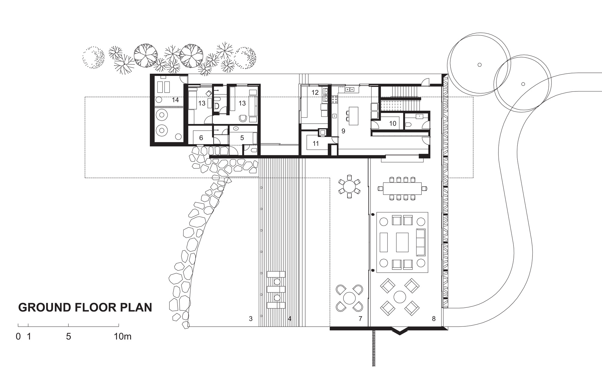 Frank Lloyd Wright Usonian House Plans Gallery Of Piracicaba House Isay Weinfeld 16
