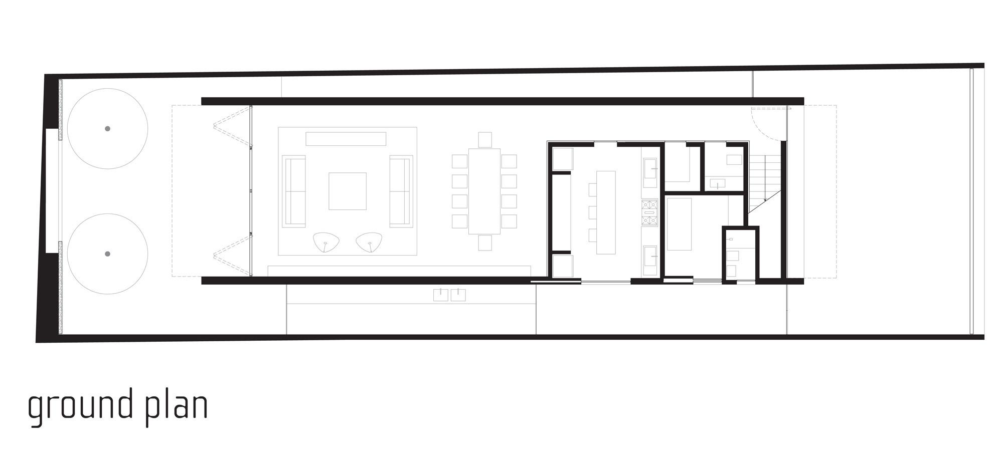 Gallery of corten house marcio kogan 25 for Marcio kogan plans