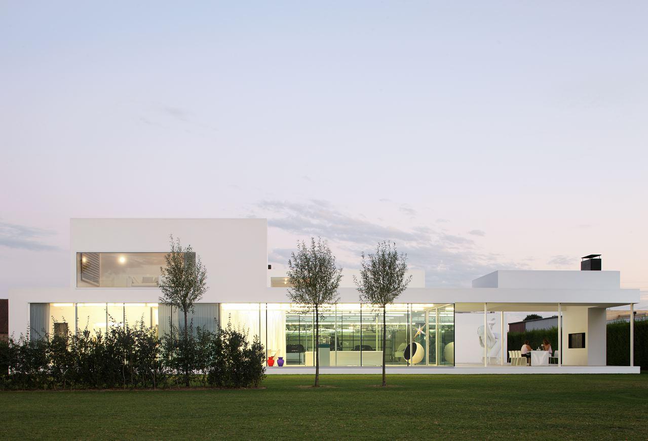 Villa VH in T / Beel & Achtergael Architecten, © Filip Dujardin