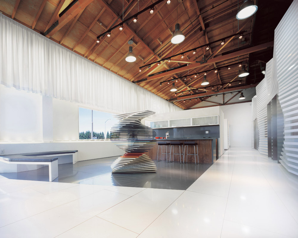 CaesarStone Showroom / Dan Brunn, Courtesy of Dan Brunn