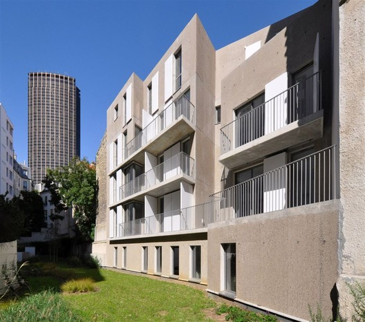 Social housing in paris fr d ric schlachet architecte for Architecte paris