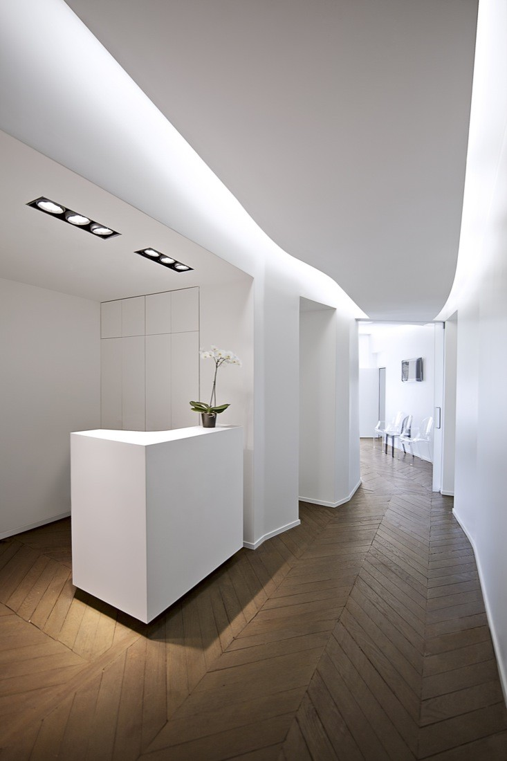 dumas chaine cabinet swan architectes archdaily. Black Bedroom Furniture Sets. Home Design Ideas