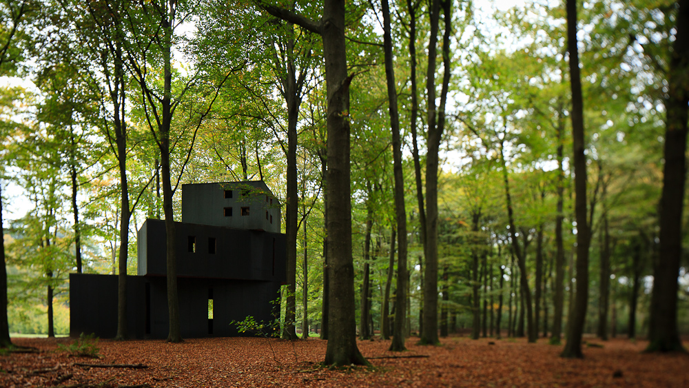 House of Dr. Jung at the Kröller-Müller Sculpture Garden / , © Pedro Kok