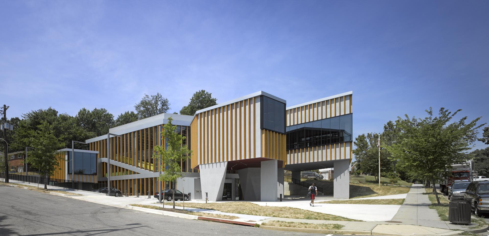 Bellevue Library / Adjaye Associates, © Edmund Sumner