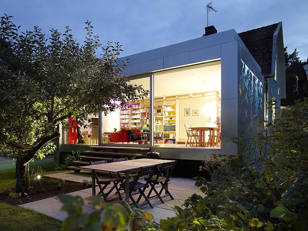 Aluminum House / UNIT Arkitektur AB, © Krister Engström