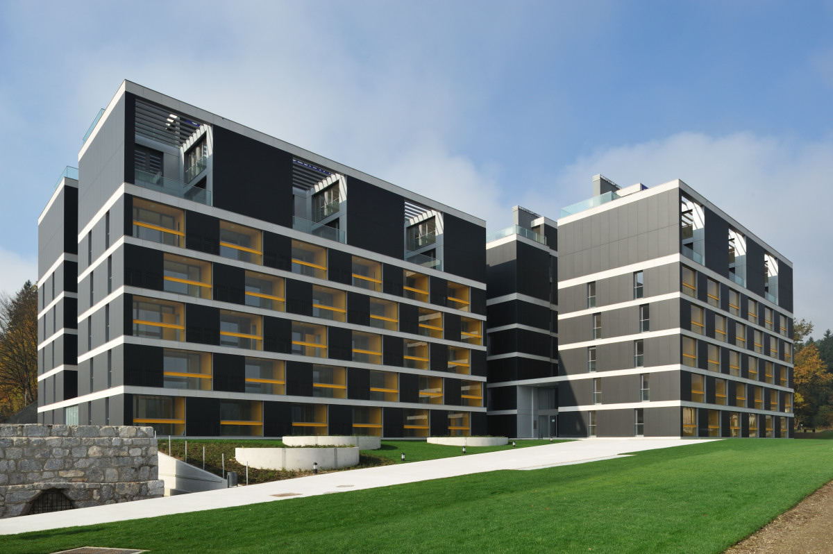 Housing Pilon / Bevk Perović Arhitekti, © Miran Kambič