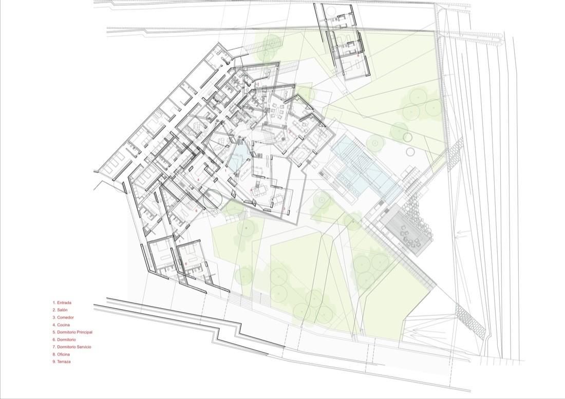 Star House,Plan