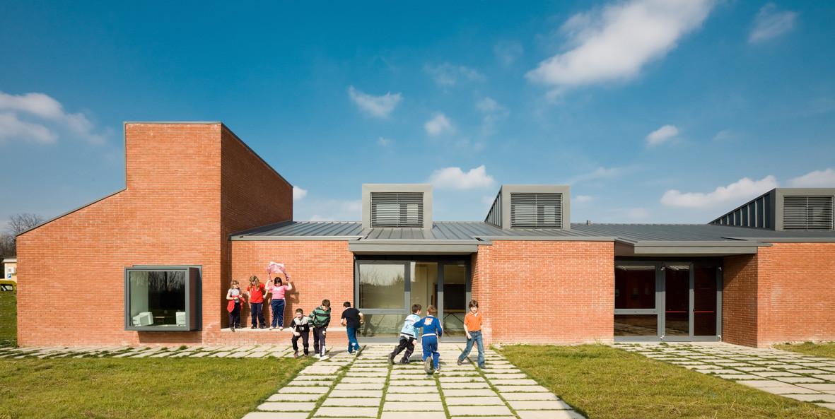 Casalserugo Primery School / Adolfo Zanetti, Courtesy of Marco Zanta