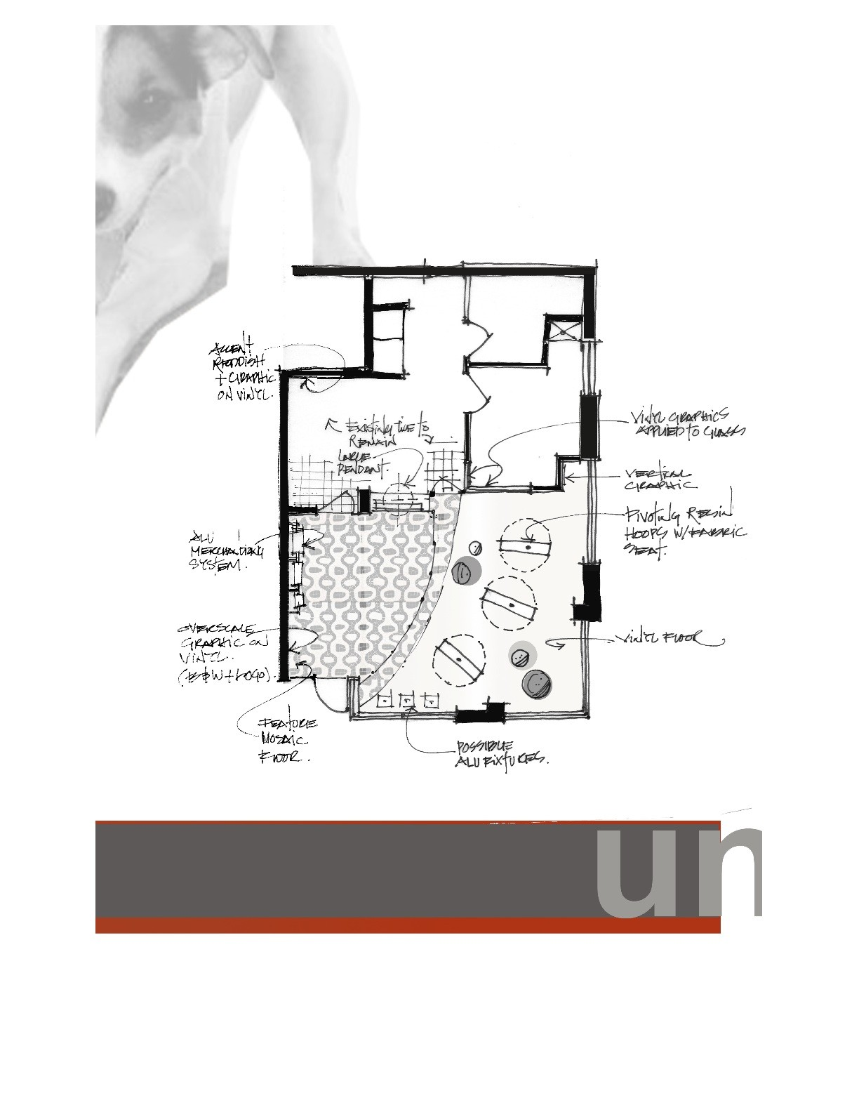Gallery of unleashed dog spa square one interiors 7 for Dog grooming salon floor plans