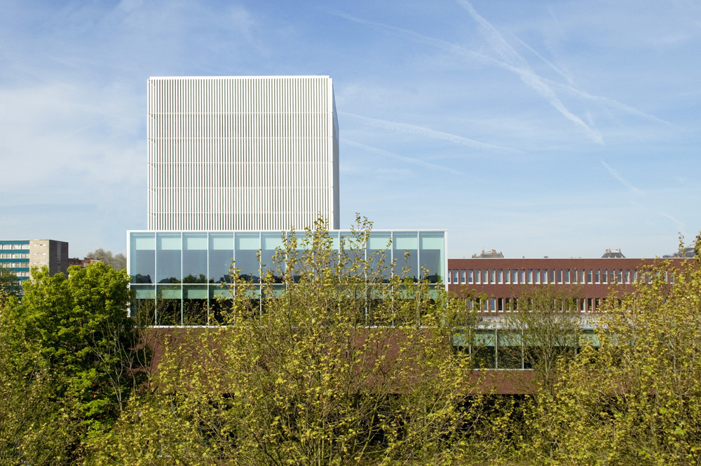 Arteveldehoge School Campus Kantienberg Ghent / Crepain Binst Architecture, Courtesy of  crepain binst architecture