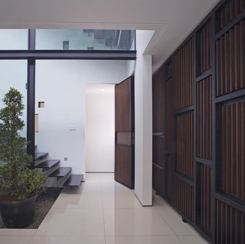 White Box House Rumah Minimalis Di Taman Kebon Jeruk Jakarta Furnizing
