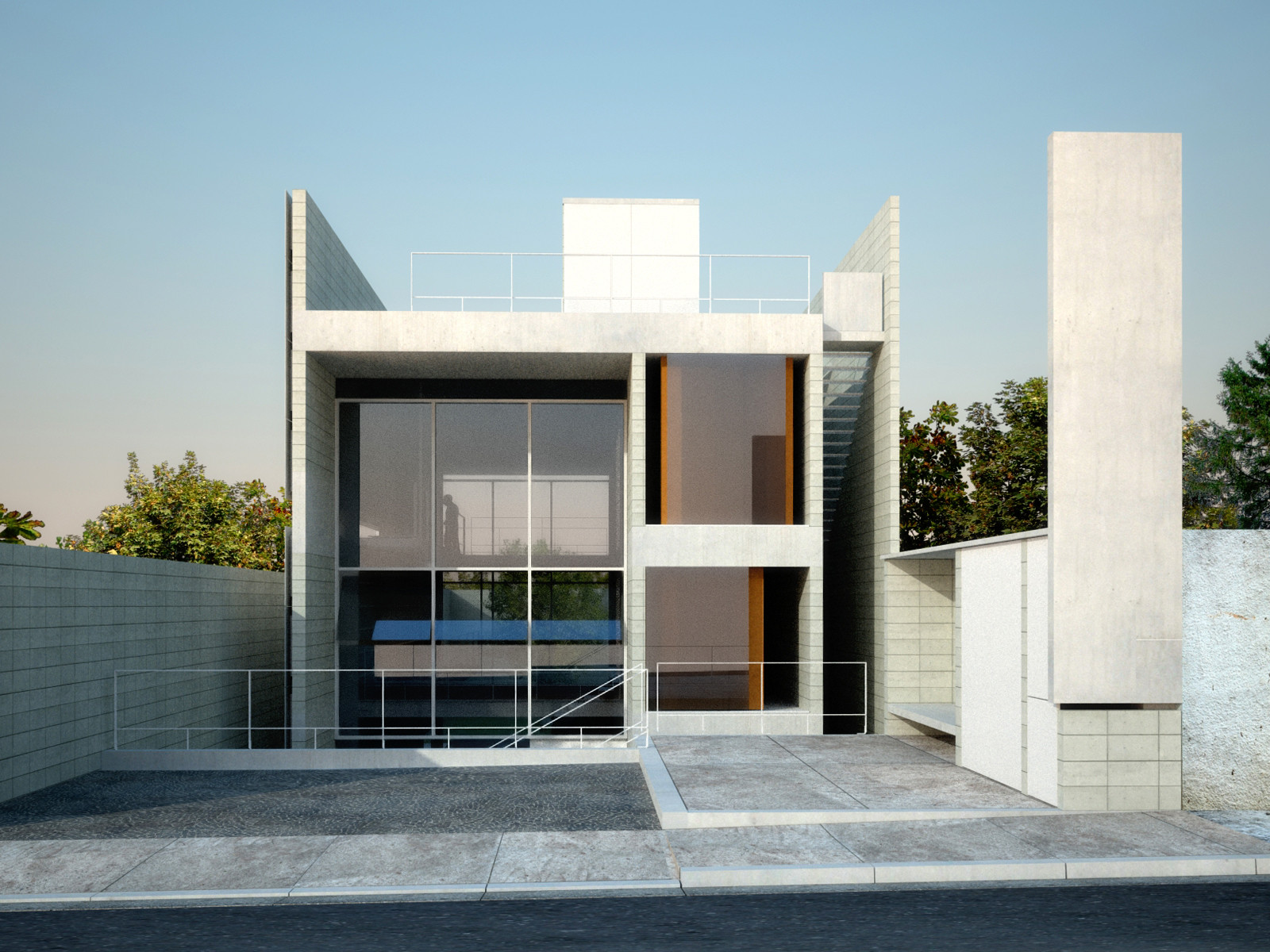 House In Sao Paulo / GrupoSP, © Nelson Kon