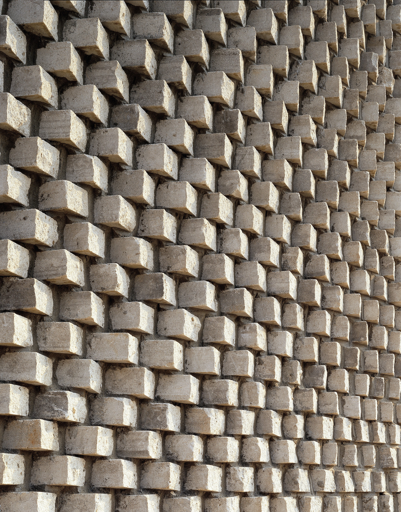 Gallery of pixel house mass studies and slade for Exterior brick design patterns