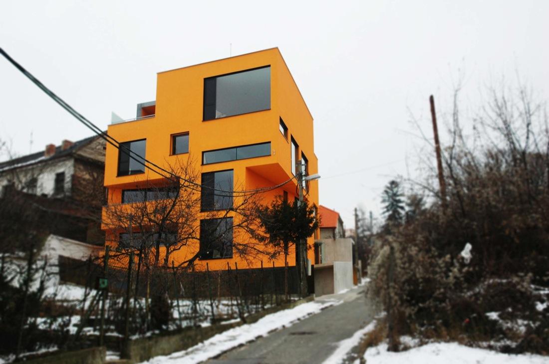 Pomaranč Residence / AOCR, © Michal Vršanský