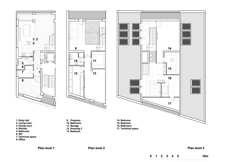 Loft Plan Modern House