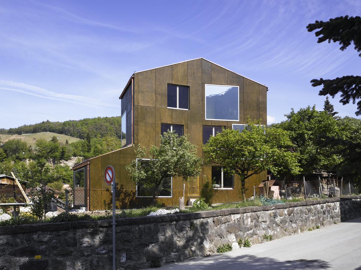 Maison Favre Bex / Bonnard Woeffray Architectes, © Hannes Henz