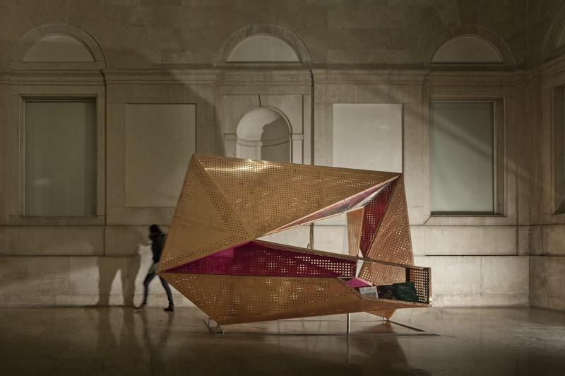 Portable Spiral of History / Bernardo Rodrigues Arquitecto, © FG+SG –Fernando Guerra