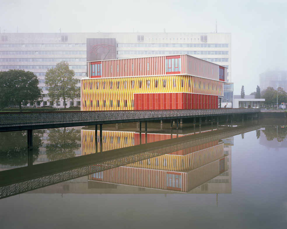 WSN Building Pavilion / pvanb architecten, Courtesy of  pvanb architecten