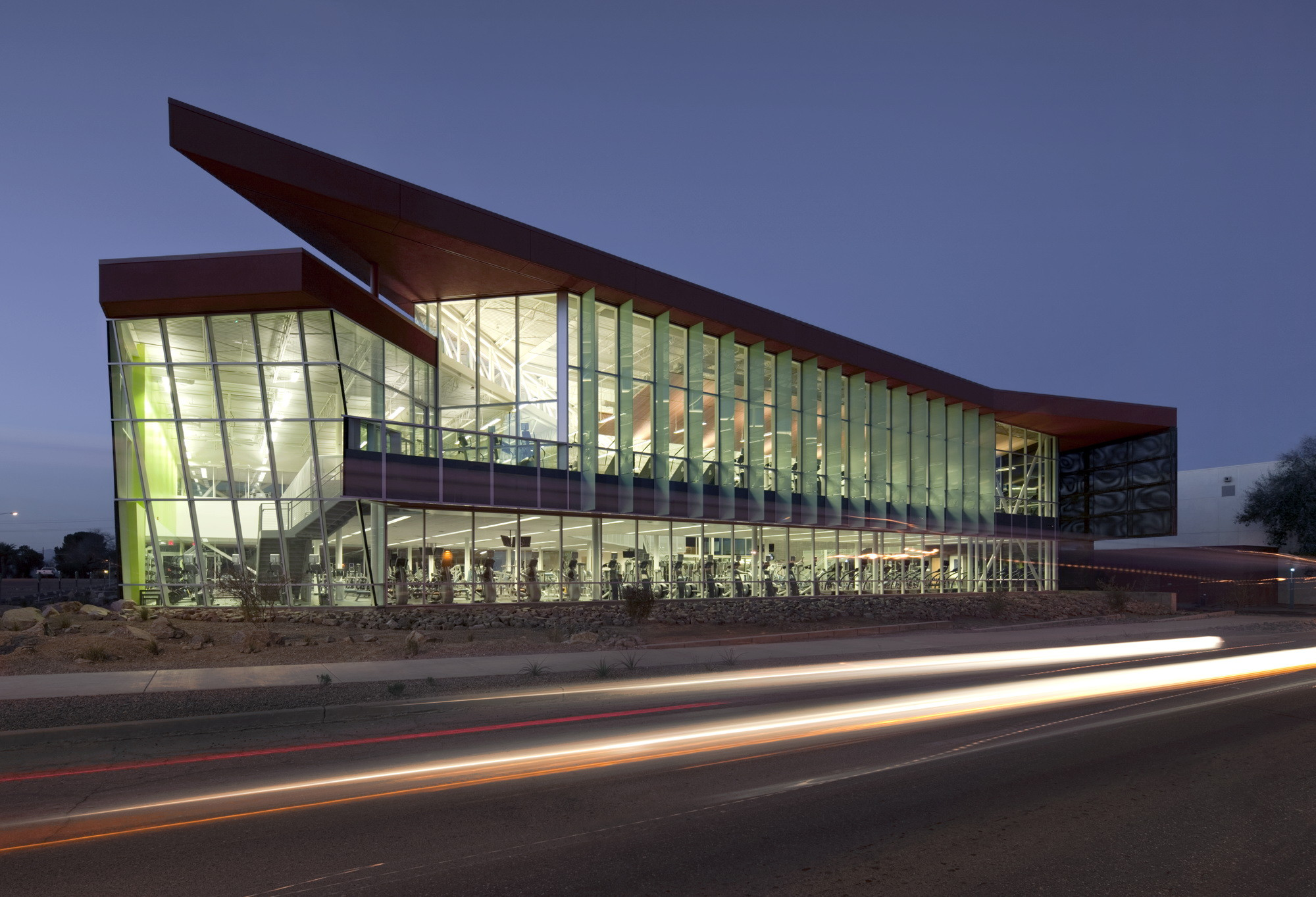 University of Arizona Student Recreation Center Expansion / Sasaki, © Timmerman Photography Inc.