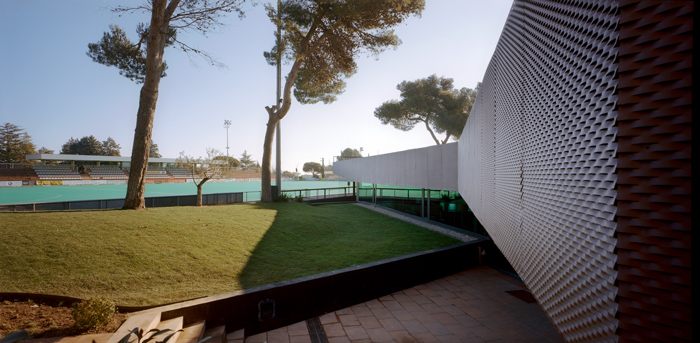 ATHC Headquarters / XVA Arquitectura, © Jordi Bernadó