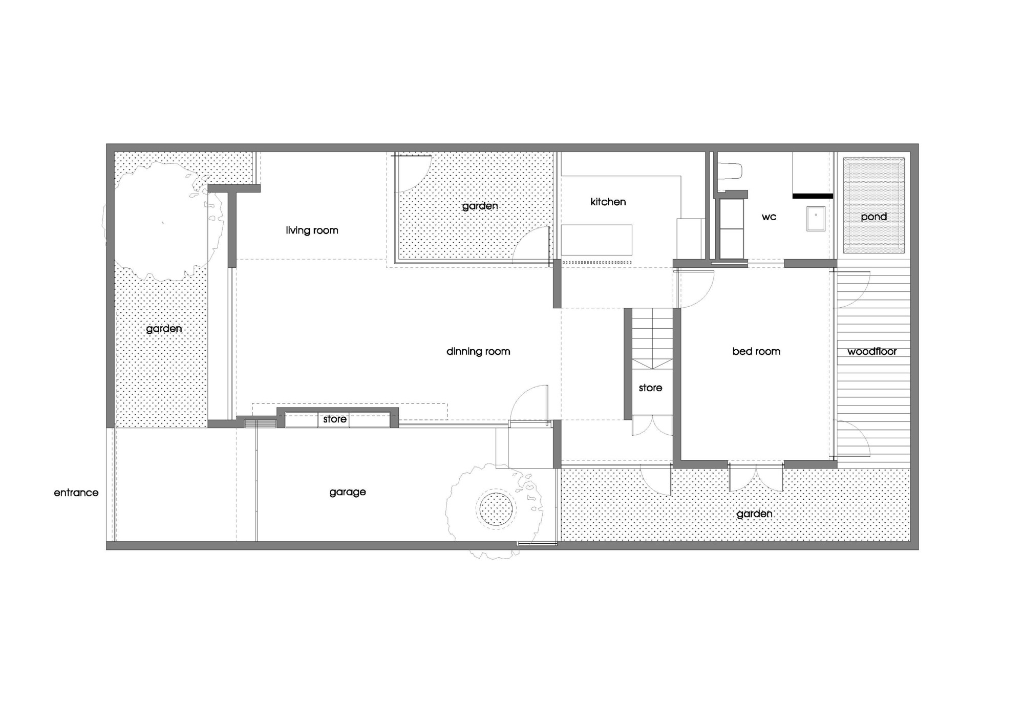 Gallery Of M House A
