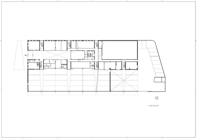 Fire Station Rijswijk / Jeanne Dekkers Architectuur, Plan