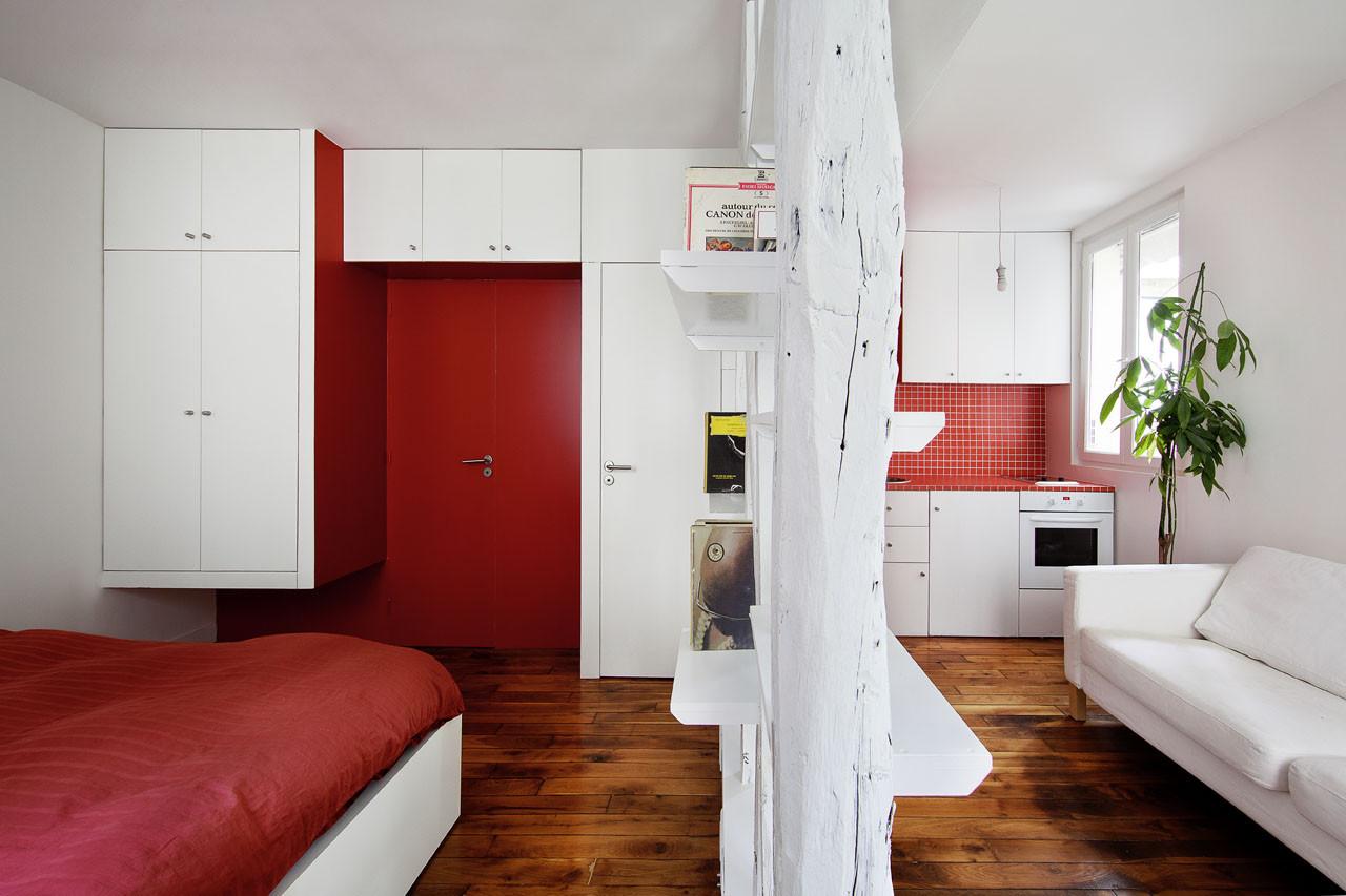 Montmartre Apartment / SWAN Architectes, © Maxime Vantorre