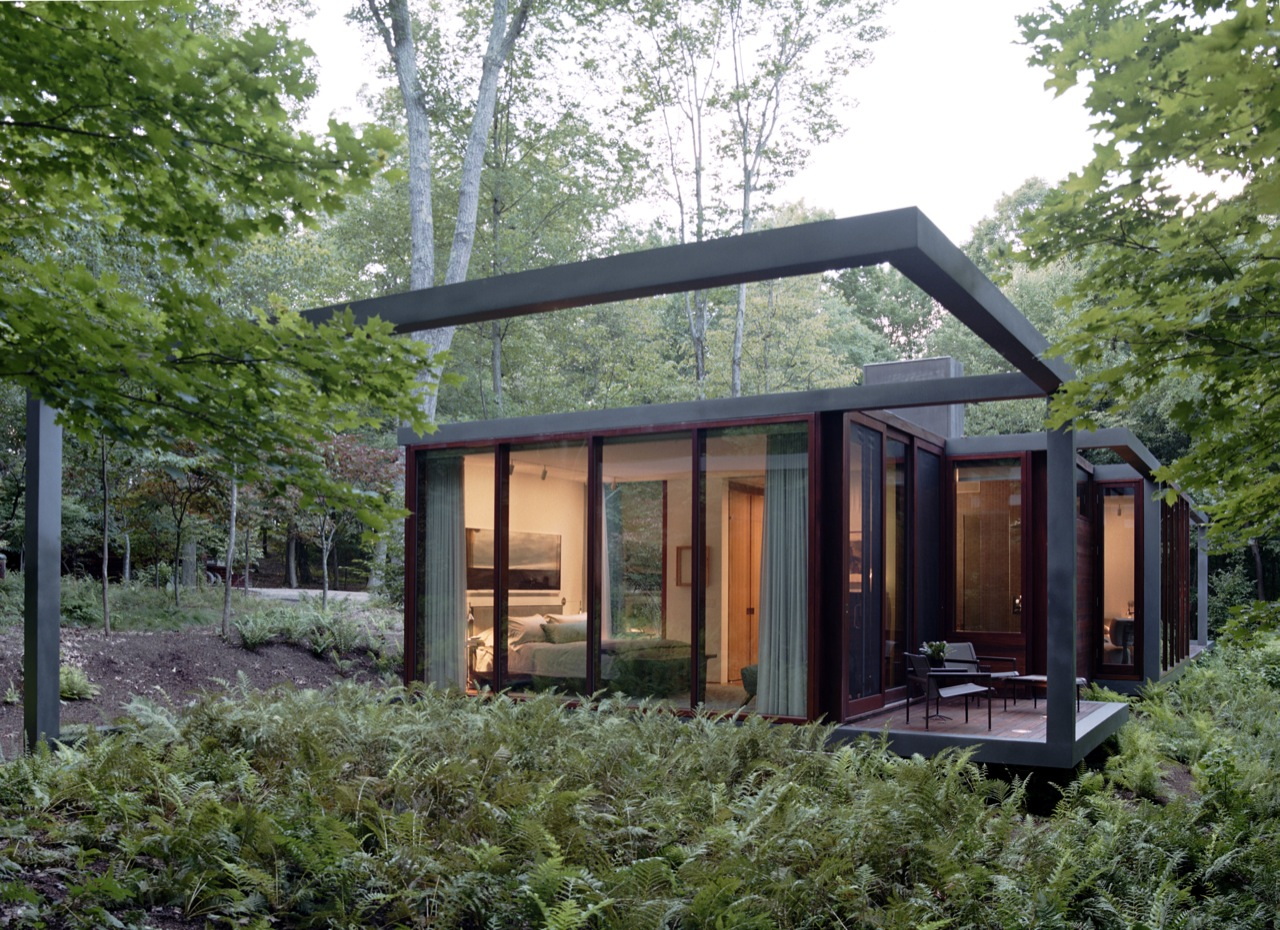 Dutchess County Residence - Guest House / Allied Works Architecture, © Jeremy Bittermann