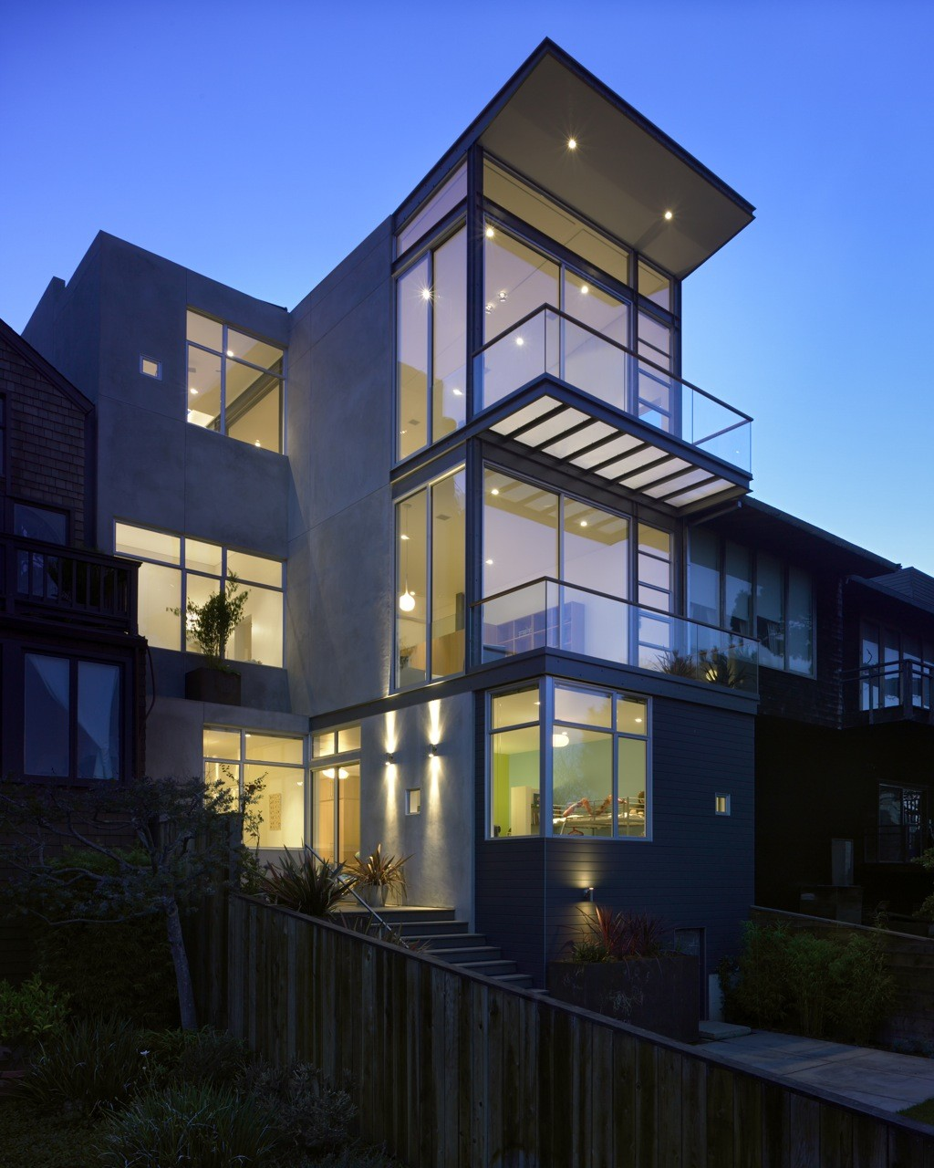 Laidley Street Residence / Zack | de Vito, © Bruce Damonte