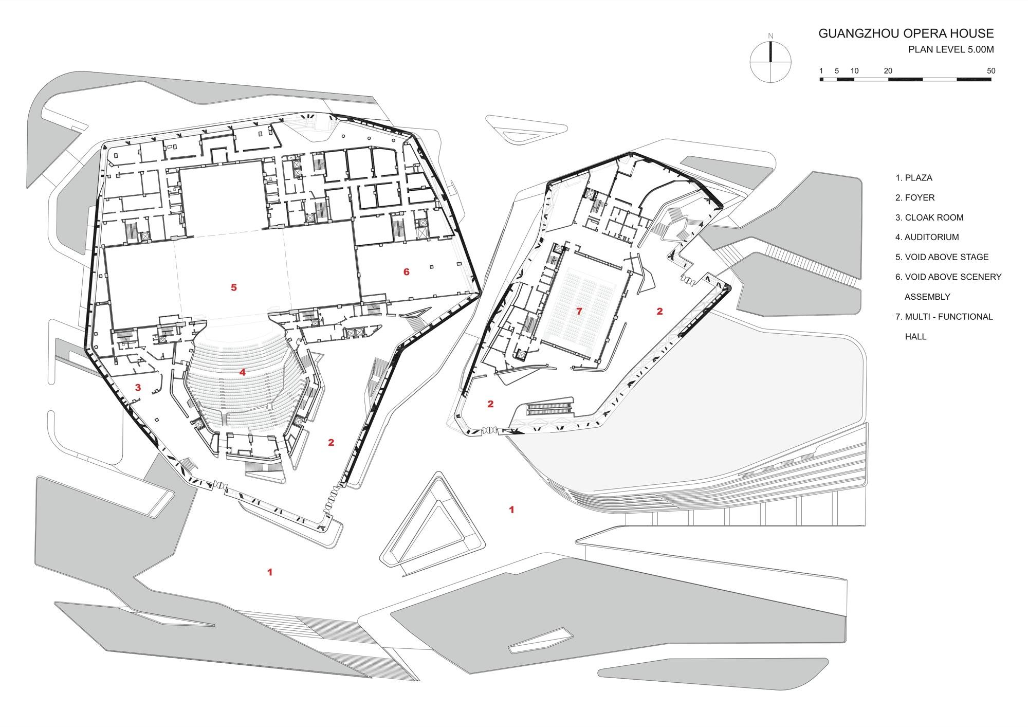 Manchester opera house layout