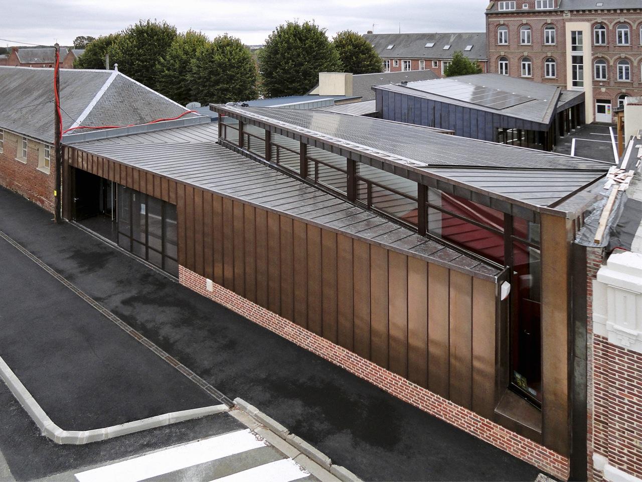 École Á Énergie Positive / Gemaile RECHAK Architecte, © Pierre-Yves Brunaud