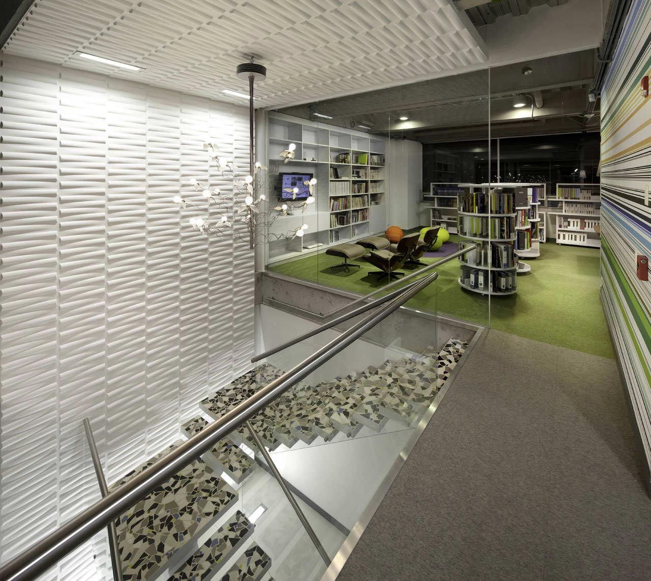 Gallery of aei headquarters arquitectura e interiores 11 for Arquitectura de interiores
