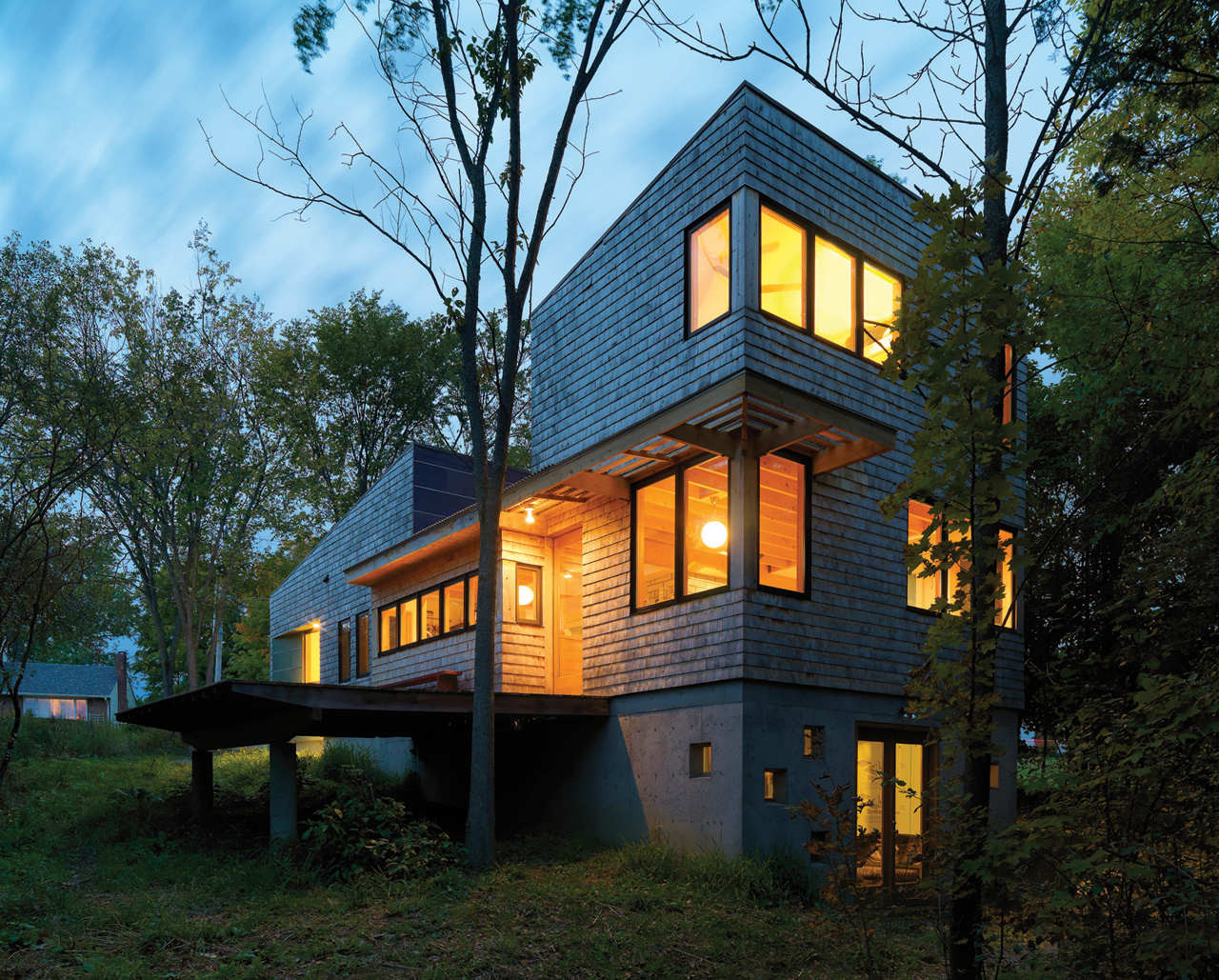 Nature Preserve House / John McLeod Architect, © Susan Teare Photography