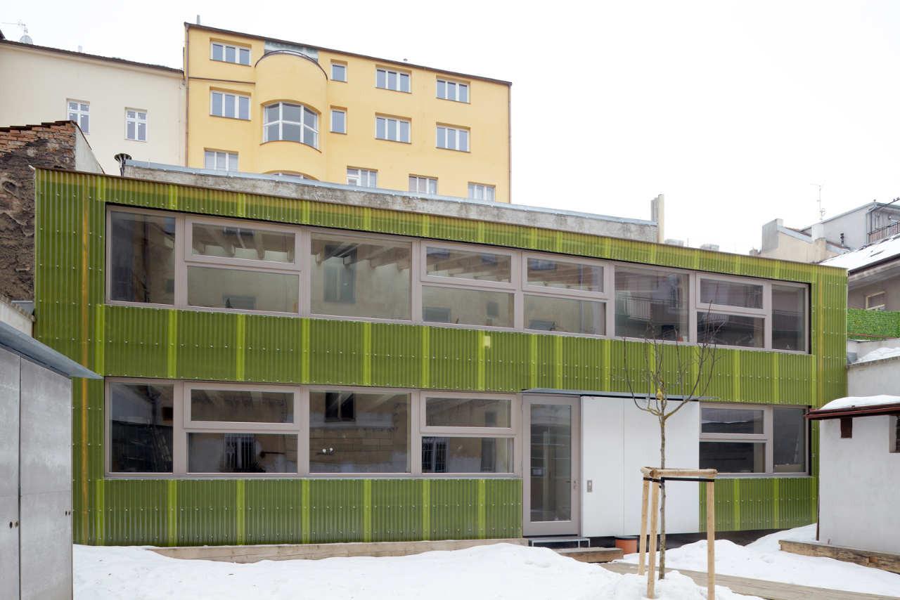 Architecture Atelier / Projektil Architekti, © Andrea Thiel Lhotáková