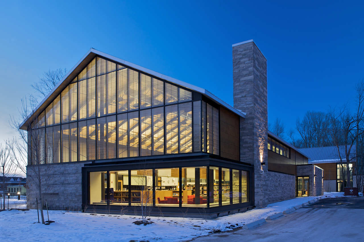 Brooklin Community Centre And Library / Perkins + Will, © Lisa Logan Architectural Photography