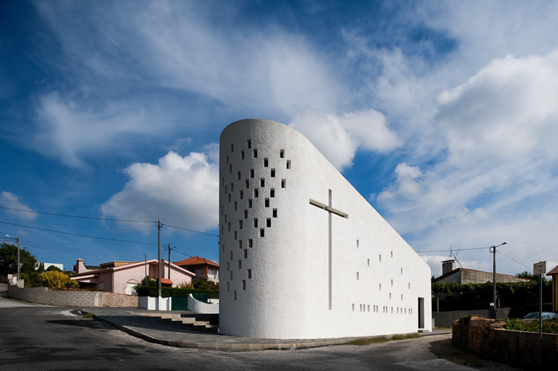 Santa Ana's Chapel / e|348 arquitectura, © FG+SG – Fernando Guerra