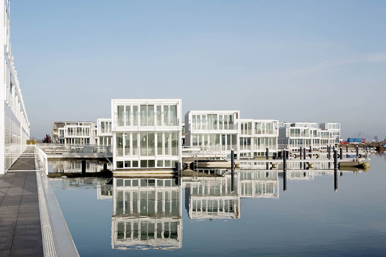 Floating Houses In Ijburg Architectenbureau Marlies