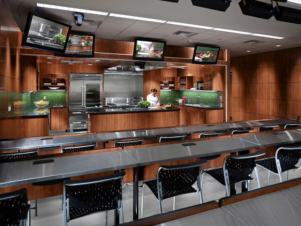 Gallery of institute for the culinary arts hdr for School kitchen designs