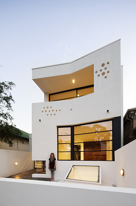 The White House Prahran / Nervegna Reed Architecture, ph Architects, © John Gollings