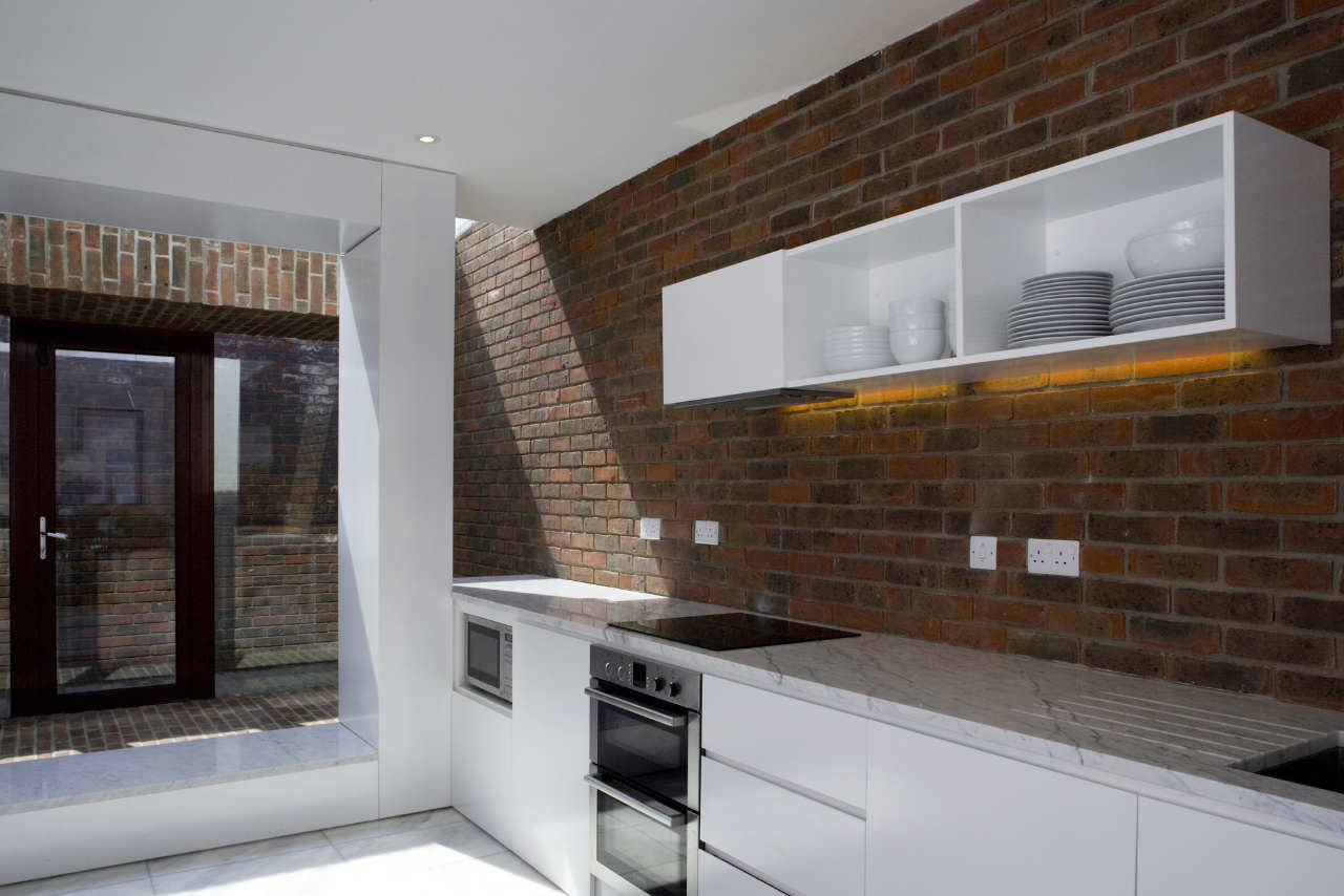 Brick A Back House / Architecture Republic, © Paul Tierney Photography