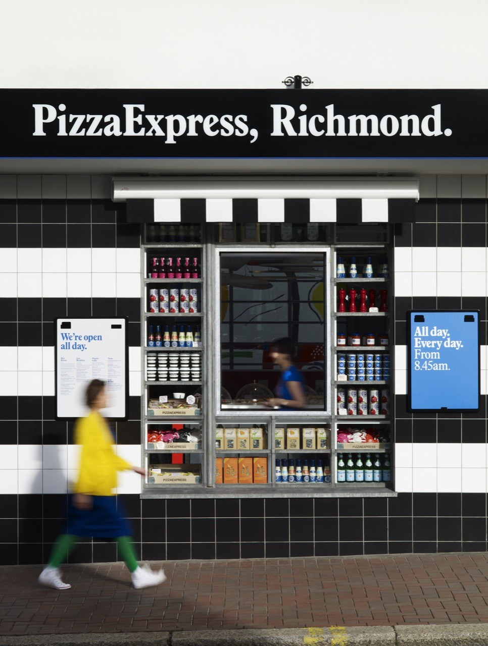 PizzaExpress / Ab Rogers Design, Courtesy of Ab Rogers Design