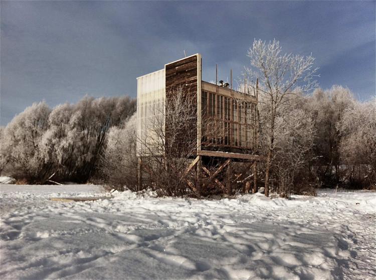 Estación en el Campo Oxbow / Eduard Epp + Estudiantes de la Universidad de Manitoba, © Eduard Epp
