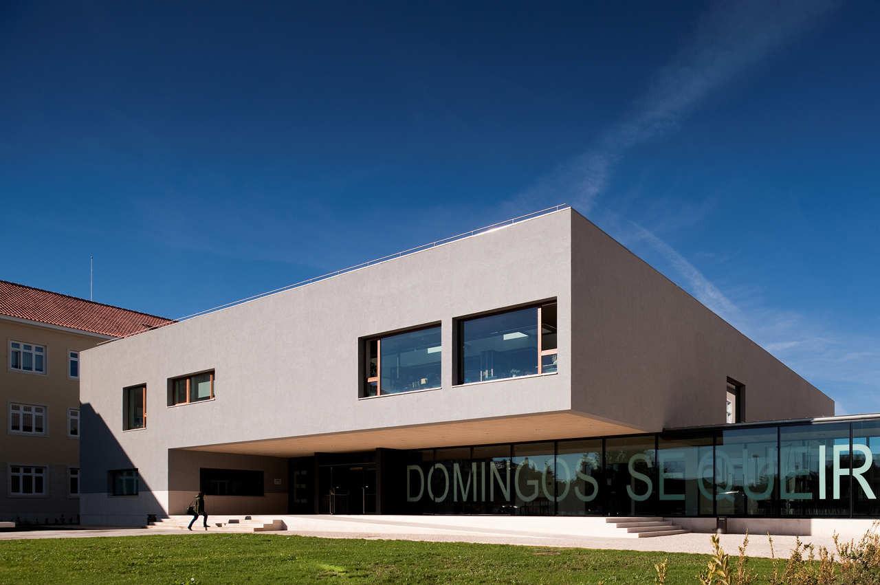 Domingos Sequeira Secondary School / BFJ Arquitectos, © FG+SG –Fernando Guerra