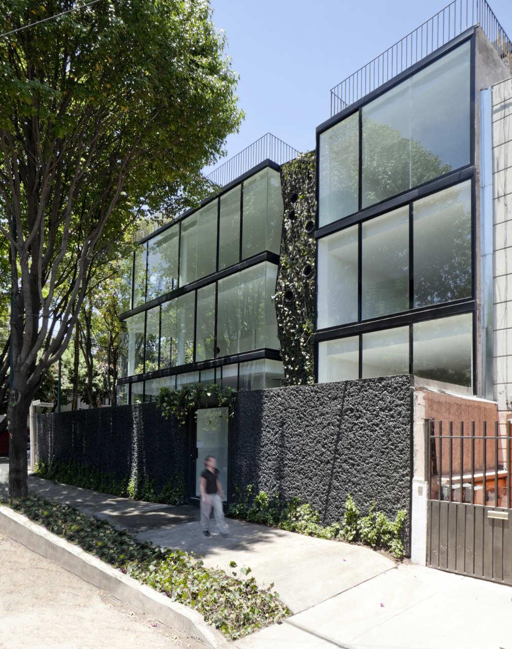 Michelet 50 dellekamp arquitectos archdaily for Edificio de departamentos planos