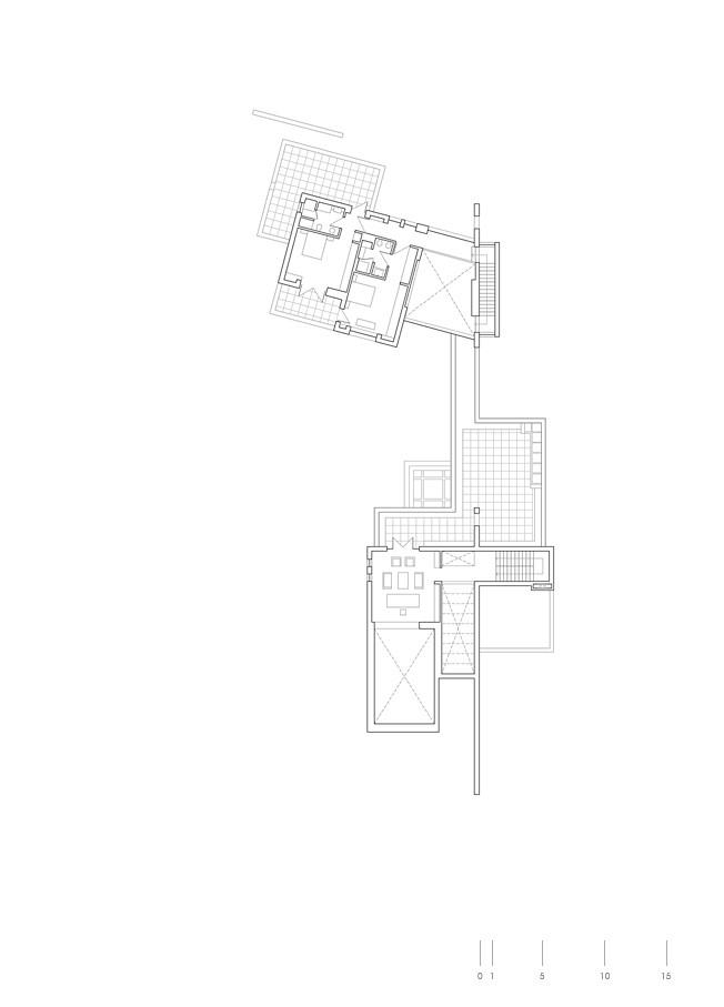 Abu Samra House,Plan